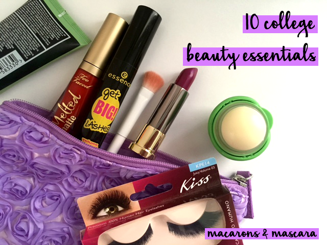 college beauty essentials