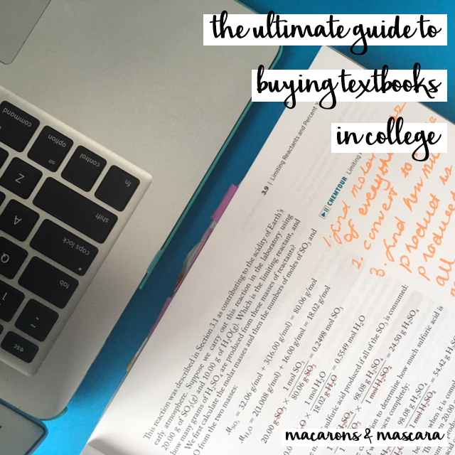 The ultimate guide to buying textbooks in college