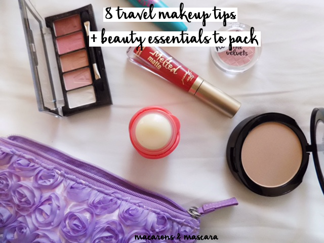 8 makeup travel tips + beauty essentials for travel