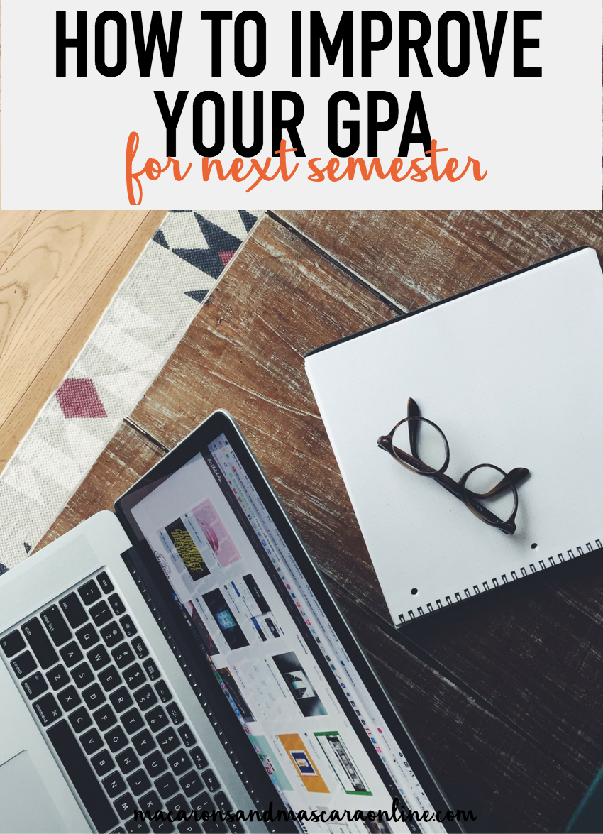 how to improve your GPA for next semester