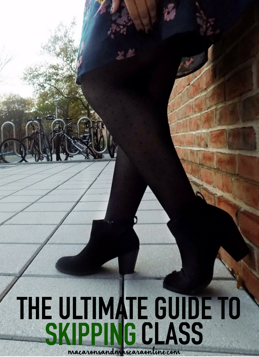 the ultimate guide to skipping class like a pro