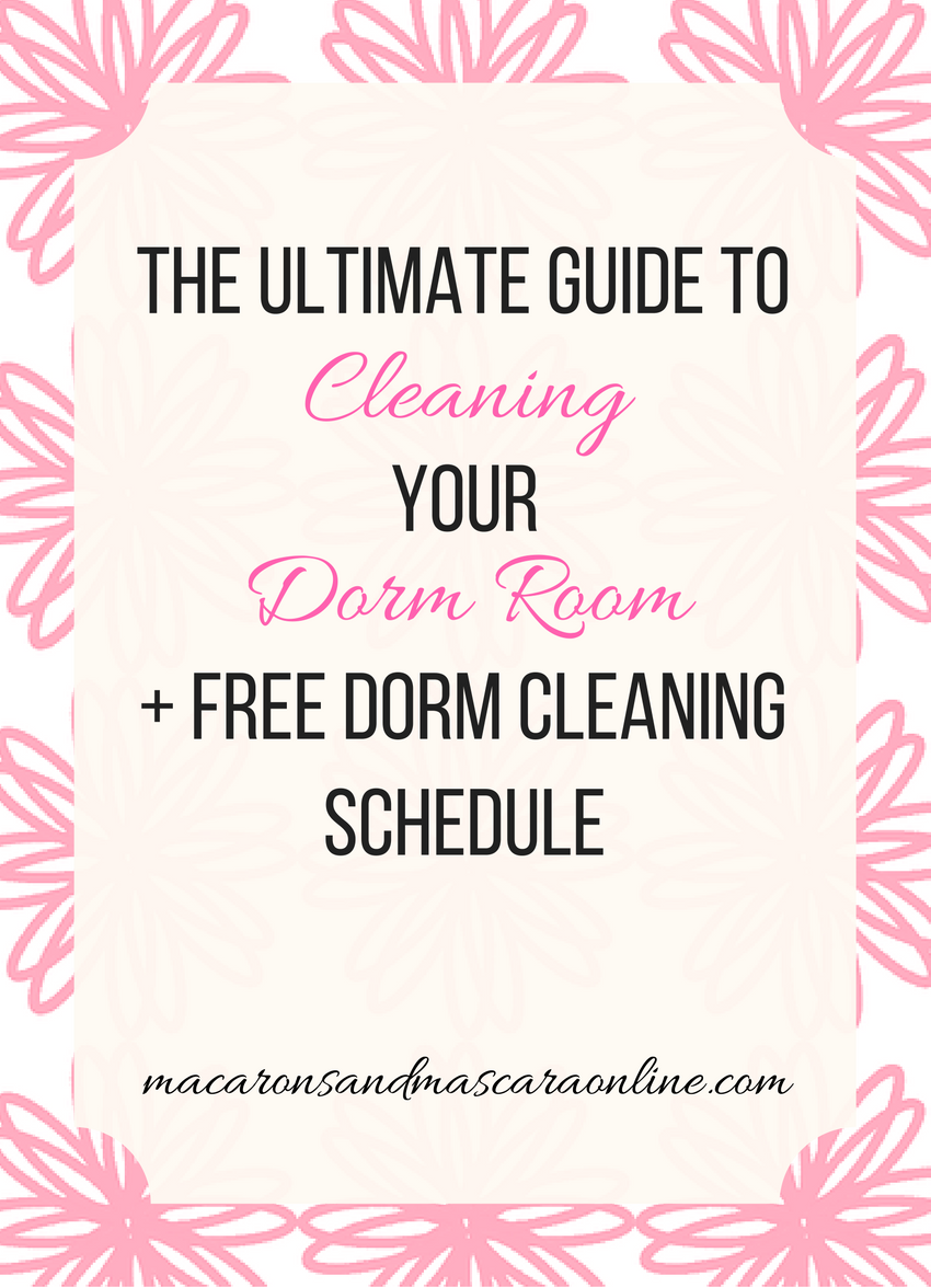 The Ultimate Guide To Cleaning Your Dorm Room