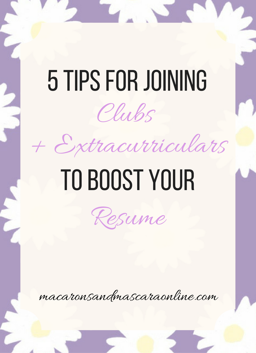 5 tips for joining clubs and extracurriculars to boost your resume in college as a freshman