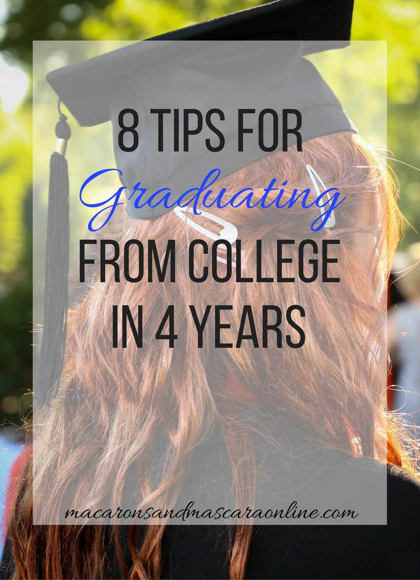 How To Graduate College In 4 Years
