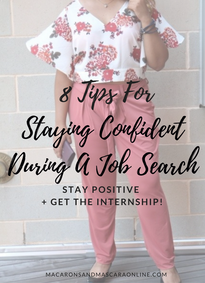 How To Stay Confident During A Job Search