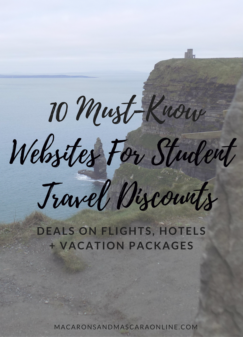 10 Mist-Know Websites For Student Travel Discounts